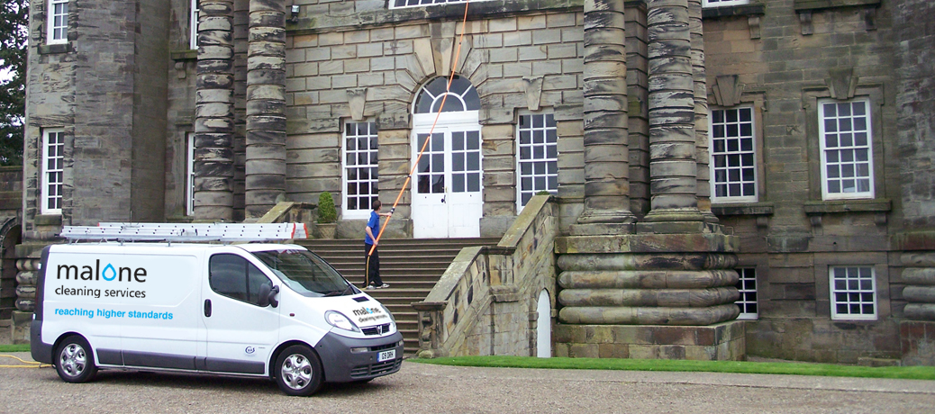 Malone Cleanig Services - Commercial Window Cleaning North East